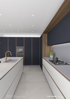 copper tapware   Minosa Design: Striking Kitchen Design with rich wood & Copper