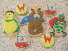 Wonder Pets Cookies! I think this will be for next year Birthday party @br