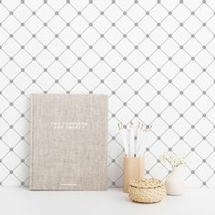 Grey and white self-adhesive wallpaper Self Adhesive Wallpaper, Peel And Stick Wallpaper, Adhesive Vinyl, Wallpaper Samples, Pattern Wallpaper, Geometric Removable Wallpaper, Amazing Grays, Life Design, Diamond Pattern