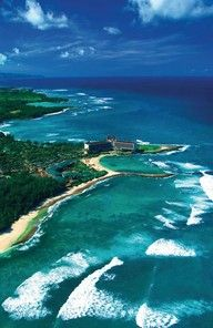 Turtle Bay Oahu's North Shore Hawaii!! Love this place. Where I swam beside 3 turtles!!
