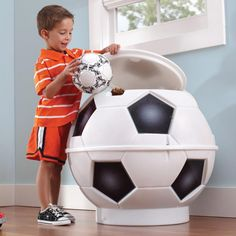 Baúl Step2 Soccer Ball Toy Chest  Hasta agotar existencias  Es la pieza  perfecta para ca9b0d629ab5