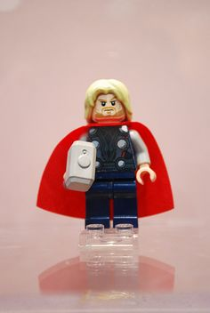 """LEGO Thor -my favorite line from the movie; """"it's a good look."""""""