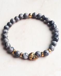 #mens bracelet #skull