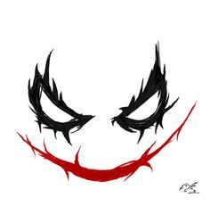 Joker: Smiley by on DeviantArt Cool Tattoo Drawings, Tattoo Sketches, Cool Tattoos, Flash Art Tattoos, Skull Tattoos, Joker Symbol, Joker Stencil, Tattoo Lettering Design, Joker Iphone Wallpaper