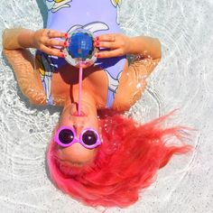 Mermaids gotta hydrate too! This beb is looking real good sipping on her Disco Drink tumbler! This disco ball shaped cup is perfect for any occasion! They hold 20 oz and can have hot or cold beverages. Get them for you and all your BFFs!