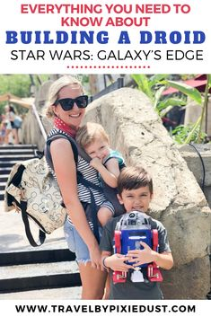 Traveling to Walt Disney World or Disneyland? Here's everything you need to know about building a droid at the Droid Depot at Star Wars: Galaxy's Edge Disney World Rides, Walt Disney World Vacations, Disney Travel, Disneyland Vacation, Disneyland Tips, Disney Land, Disney Cruise, Disney Parks, Disney Destinations