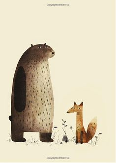 Illustration from I Want My Hat Back - Jon Klassen