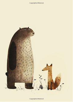 Illustration from I Want My Hat Back - Jon Klassen