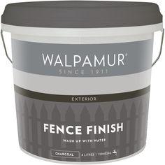 Walpamur 4L Charcoal Fence Finish