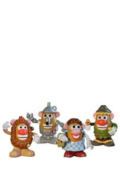 The Wizard of Oz Mr. Potato Heads.