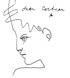 'What the public criticizes in you, cultivate.  It is you. '  Jean Cocteau  Exquisite Line Quality