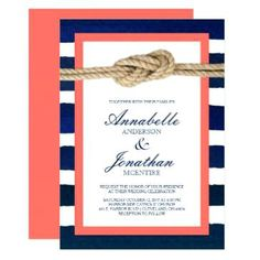 Image result for coral and navy wedding