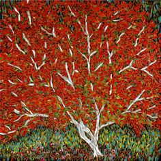 Larissa Strauss Mosaic Tree