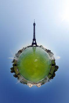 how to uniquely photograph popular tourist destinations