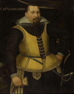 Portret van Karel van der Hoeven, anoniem, c. 1605 - c. 1615