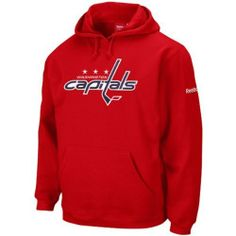 NHL Men's Washington Capitals Reebok Playbook Hooded Sweatshirt (XX-Large) by NHL. $47.00. Get Into The Action In With This Hooded Sweatshirt By Reebok. Officially Licensed By The NHL.