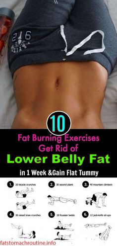 fat burning exercise get rid of lower belly fat in 1 week and gain flat tummy Skinny Stomach, Flat Stomach Fast, Lower Stomach, Lose Lower Belly Fat, Fat Belly, Lose Fat, Workouts For Teens, Workout For Flat Stomach, Stomach Workouts