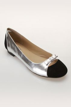 """These colored-toes are in this season! """"Alegra Flats"""" $79.99"""