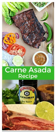 The Best Carne Asada │Authentic Mexican Food Recipes, Quick and Easy Beer Recipes, Grilling Recipes, Mexican Food Recipes, Cooking Recipes, Mexican Entrees, Recipies, Recipes Dinner, Paleo Recipes, Carne Asada Recipes Easy