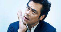 Benicio Del Toro for Les Inrocks