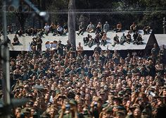 22 Dec 1969, Lai Khe, Vietnam --- Lai Khe, Vietnam: View of some 15,000 GI's for the start of Bob Hope's 1969 Vietnam Christmas tour. --- Image by © Bettmann/CORBIS