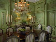Formal Dining Room -  Scott Snyder Inc.  Waterside Palm Beach, FL