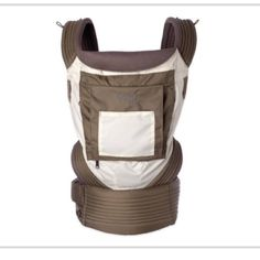 Onya baby carrier, infant insert and teething pads Onya's award-winning carriers are ergonomic and comfortable for baby and parent. The top-quality baby carrier can be worn in 3 carry positions - on your front, back & hip. Use with babies (15-45 lbs) and for newborns with Baby Booster infant insert starting at 7 lbs.  Each carrier is loaded with additional useful features; two convenient zippered storage pockets, a helpful tuck-away sleeping hood, toy loops and a D-ring for your keys…
