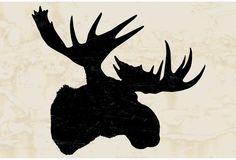 One Kings Lane - Woodsy Decor - Moose Head