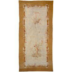 Aubusson antik francia szövött falikárpit - 19.sz. gobelin