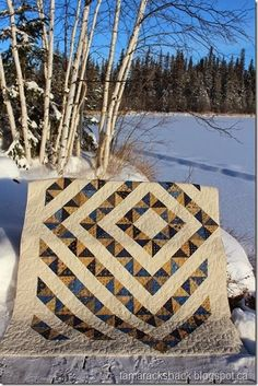 Wendy's Four Patch Charm Quilt