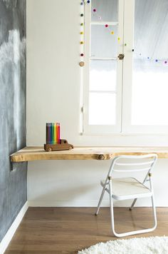 kids art desk