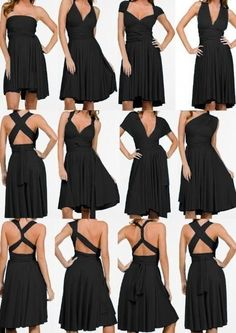 ways to wear the convertible dress!
