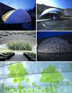 Leaf Chapel by Klein Dytham Architecture, Japan