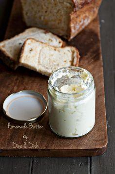 Making Homemade Butter with the Blendtec Blender {Blendtec Giveaway!!} - Dine and Dish