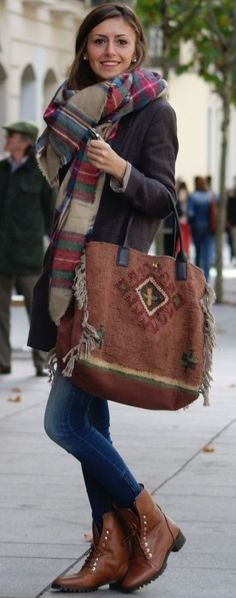 Fall Layers - Maudjesstyling: that bag!!