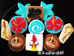 Moana Cookies  Moana decorated cookies