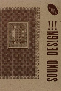 Emigre Sound Design Emigre Inc. (American, founded Rudy VanderLans (Dutch, born and Zuzana Licko (Slovak, born Lithograph, Various dimensions. Moma, Emigre Magazine, Iron Age, Sound Design, Vintage Artwork, Postmodernism, Site Design, Magazine Design, Packaging
