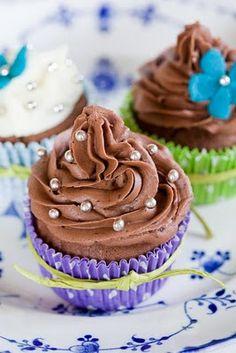 Sweet Chocolate Cupcakes..