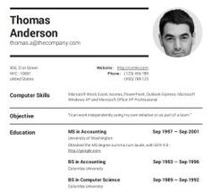11 Best Cv template images in 2019 | Cv template, Academic writing