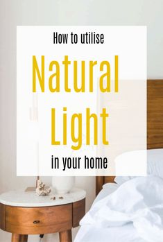 How to utilise natural light in your home and create a space that looks fesher and bigger and full of light happy vibes  #naturallight #homedesignideas #lightingtips #lighthacks #homehacks
