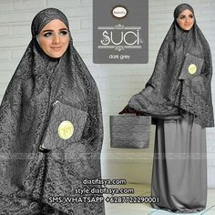 Mukena Suci by Nanbell's Abaya Fashion, Fashion Dresses, Islamic Prayer, Hijab Tutorial, Girl Hijab, Islamic Clothing, Mocca, Muslim Women, Fashion Kids