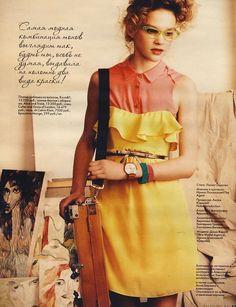 ELLE Girl magazine Russia