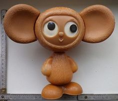 scarce /soviet/ #russia #extra big #vintage plastic toy cheburashka, View more on the LINK: http://www.zeppy.io/product/gb/2/291804812160/