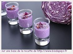 Trendy Ideas For Brunch Ideen Glas Raw Food Recipes, Appetizer Recipes, Antipasto, Red Cabbage, Appetisers, Food Inspiration, Love Food, Mousse, Shot Glass