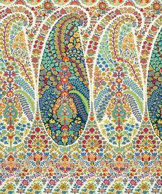Penelope Cotton in Lemongrass   Nesfield Collection by Liberty Art Fabrics – Interiors   Liberty.co.uk