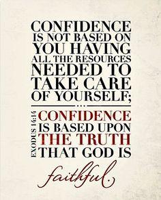 Confidence quotes faith bible christian scriptures