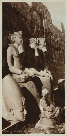 "1878........KARNAK......PHOTO BY RUDOLF FRANZ LEHNERT & ERNST HEINRICH.......SOURCE "" LES SOURCES DU NIL "".TUMBLR.COM............"
