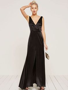 It can be hard to decipher the dress code of a black-tie wedding. We break down the dos and don'ts and bring you the best formal attire on the market. Black Tie Wedding Guest Dress, Black Tie Wedding Guests, Black Tie Dress Code, Black Tie Attire, Sophisticated Dress, Dress Making, Evening Gowns, What To Wear, Dress Up