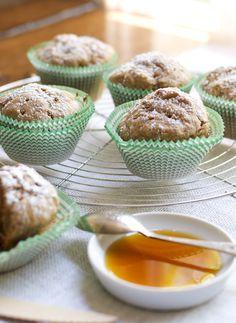 Muffins de tostada francesa