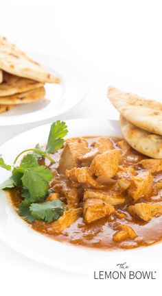 Lean chicken breasts are slowly cooked in a flavorful sauce made with tomato paste, coconut milk, ginger, and garam masala to create a lightened up version of the popular Indian dish, chicken tikka masala.